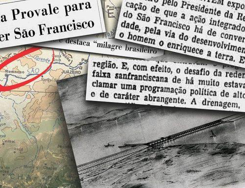 A REDENÇÃO DO SÃO FRANCISCO, DIZIAM LÁ ATRÁS